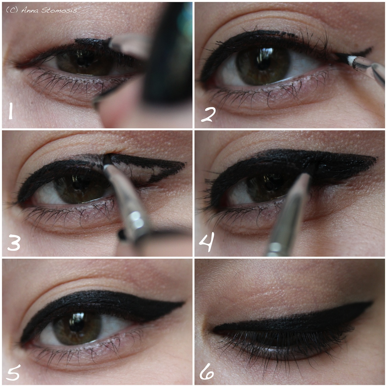 tutorial der perfekte eyeliner. Black Bedroom Furniture Sets. Home Design Ideas