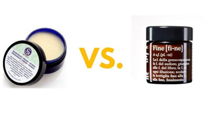 Kühlschrank Deo : Showdown soapwalla deodorant cream vs fine deo biomazing