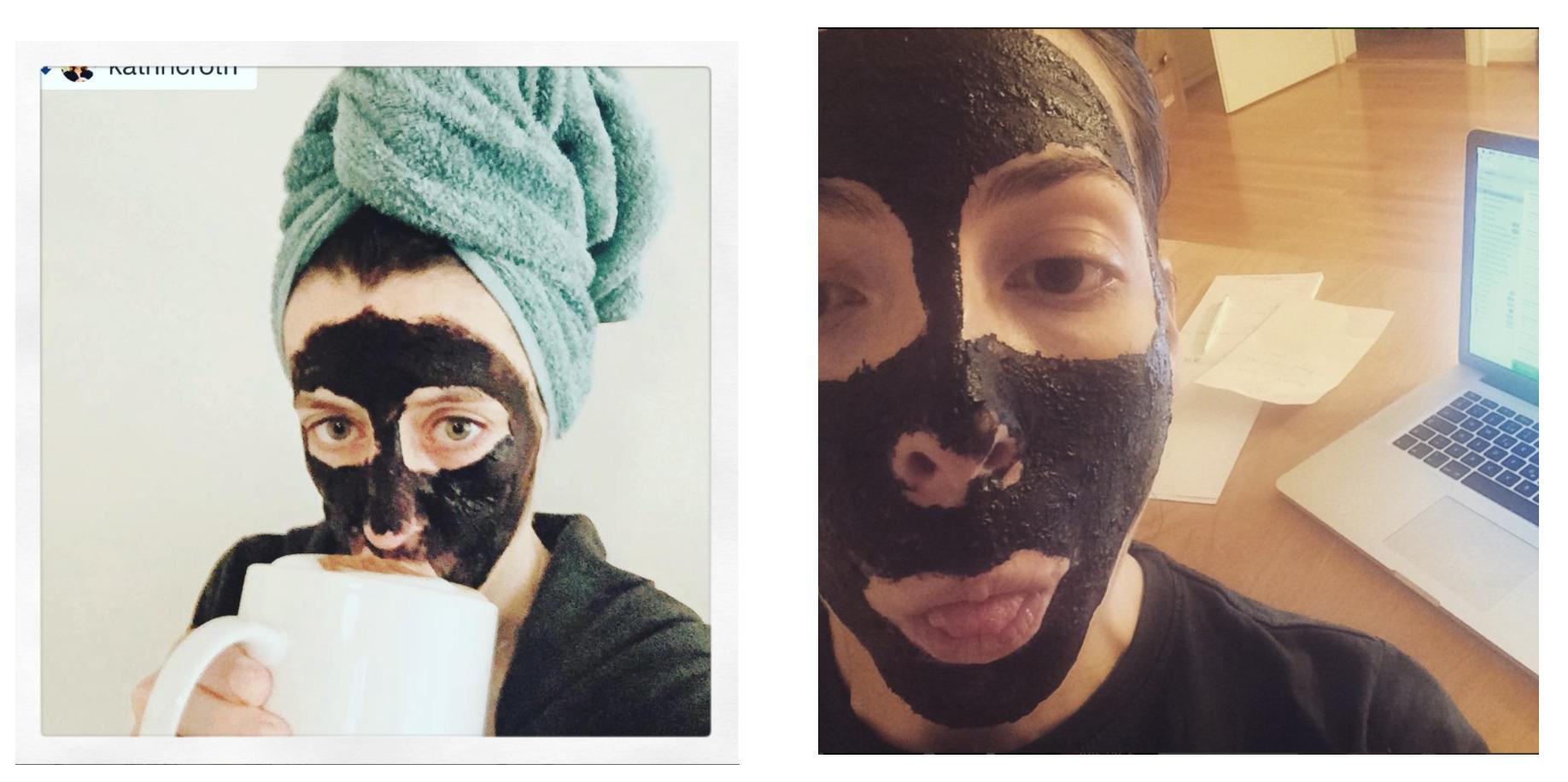 Katrin + Anna Vestige Verdant Maske