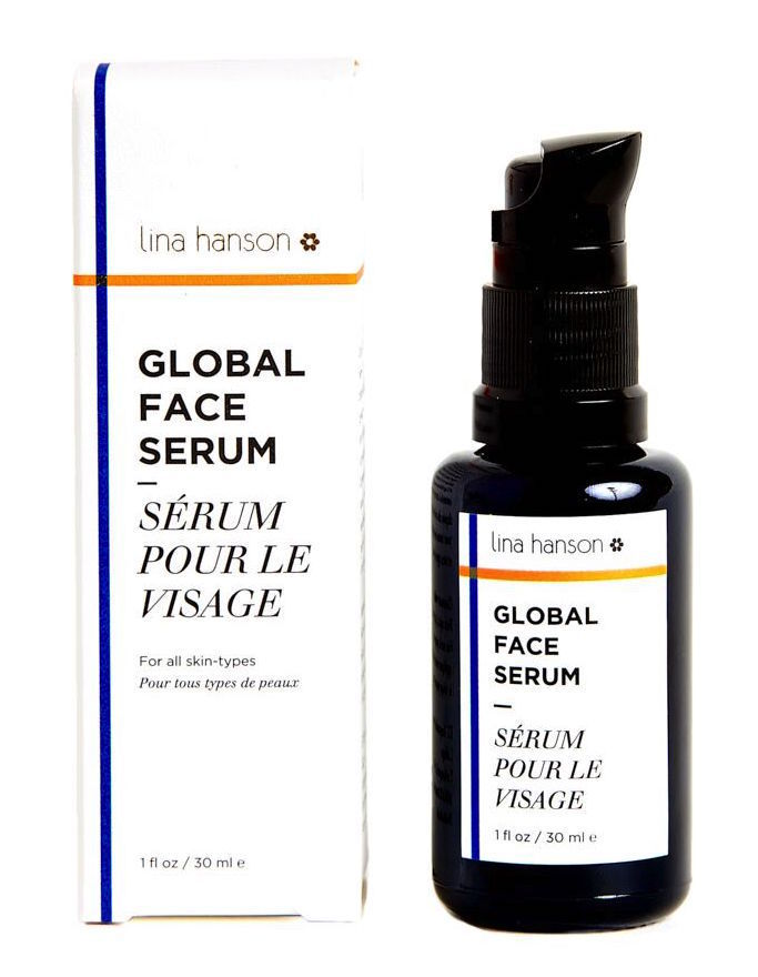 Lina Hanson_Global Face Serum